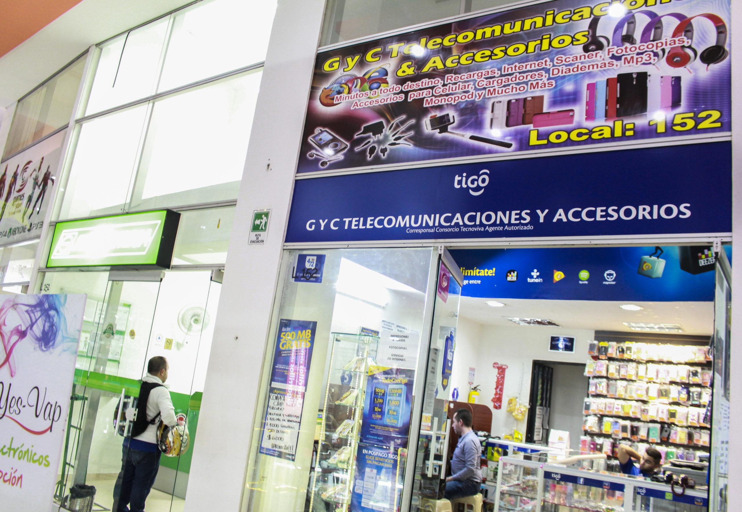 G y C Telecomunicaciones y Accesorios – Local 152
