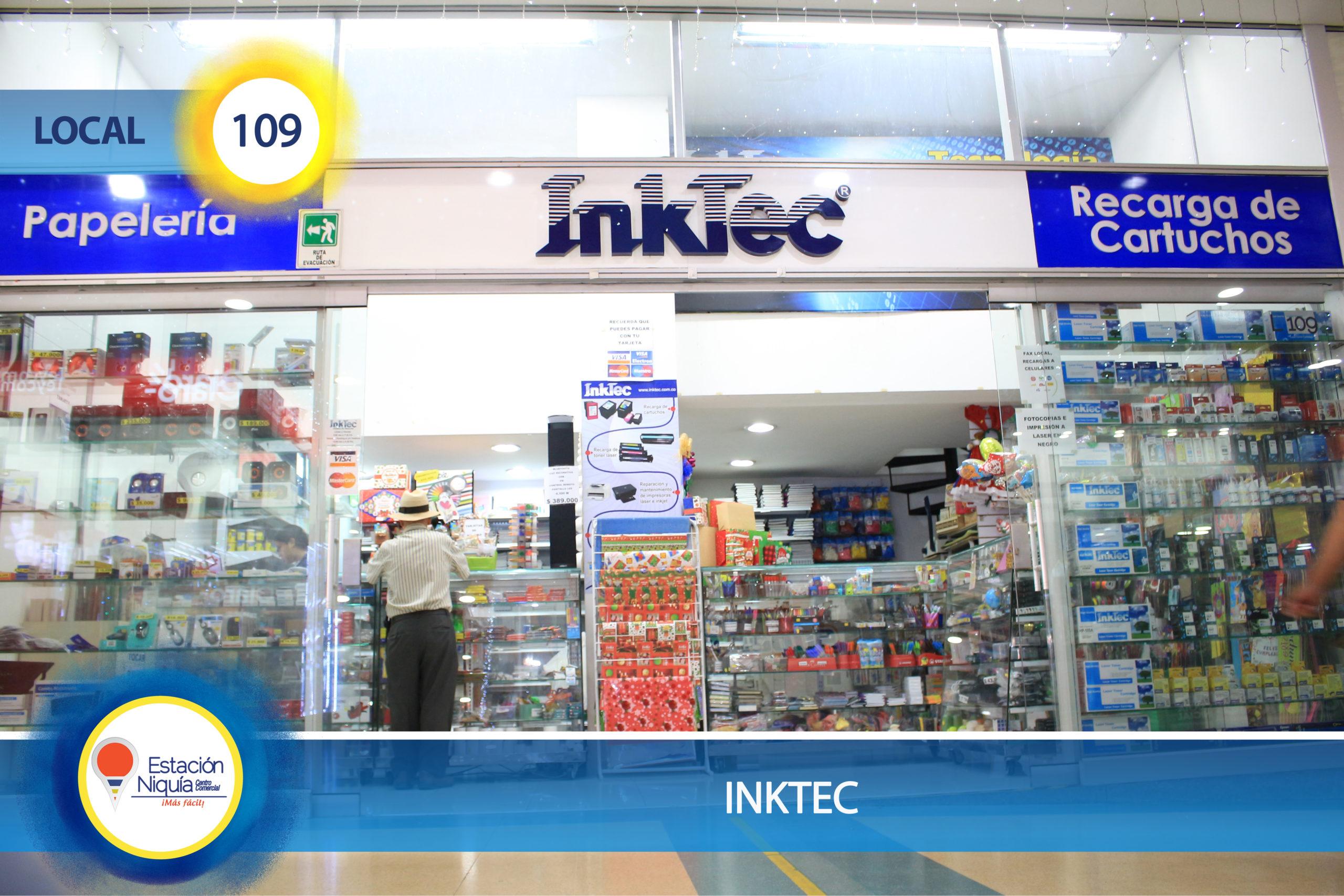 Papelería Inktec – Local  109